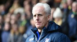 Mick McCarthy has been out of a job since leaving Ipswich in April (Joe Giddens/PA)