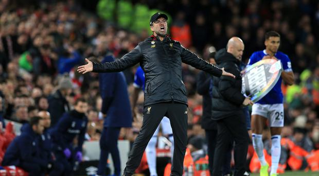 Jurgen Klopp Handed Punishment Over Derby Pitch Invasion