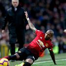 Ashley Young wants to stay at Old Trafford (Barrington Coombs/PA)