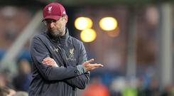 Jurgen Klopp admits there is a fine balancing act to be done in Liverpool's Champions League tie with Napoli (Richard Sellers/PA)