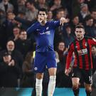 Chelsea striker Alvaro Morata scored the winning goal in last season's Carabao Cup win over Wednesday's opponents Bournemouth (John Walton/PA)