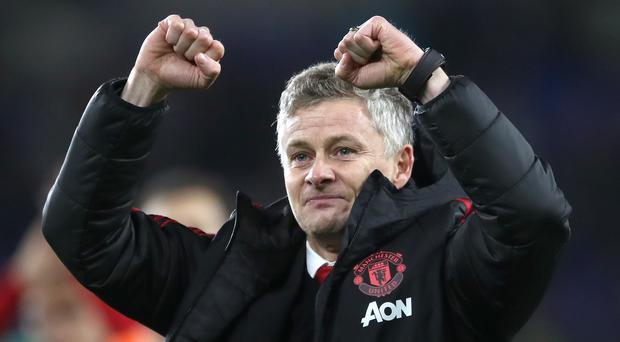 Ole Gunnar Solskjaer will take charge of his first home game as interim manager of Manchester United on Boxing Day (Nick Potts/PA)