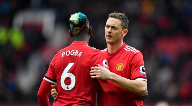 Paul Pogba and Nemanja Matic have formed an effective partnership (Anthony Devlin/PA)