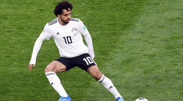 Egypt forward Mohamed Salah has been named African player of the year (Owen Humphreys/PA)