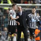 Newcastle United manager Rafael Benitez said he was 'really pleased' after the win at Ewood Park, Blackburn (Martin Rickett/PA)
