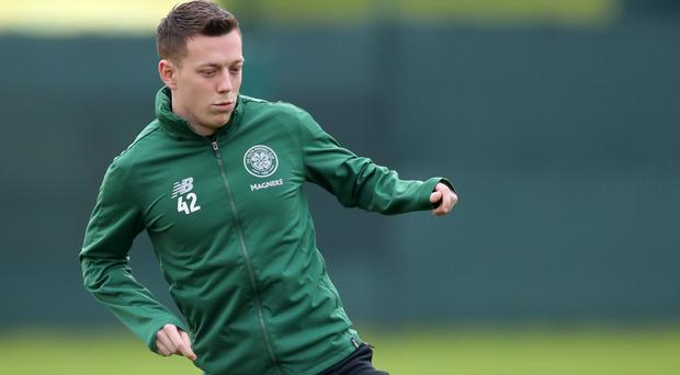 Callum McGregor looking to continue Scottish Cup success with Celtic (Jane Barlow/PA)