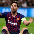 Lionel Messi is due a rest soon according to his manager (Nick Potts/PA)