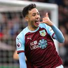 Dwight McNeil has signed a new deal at Turf Moor (Richard Sellers/PA)