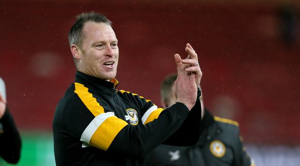 Newport manager Michael Flynn will come against Manchester City's Pep Guardiola in the FA Cup if his side overcomes Middlesbrough on Tuesday (Richard Sellers/PA)