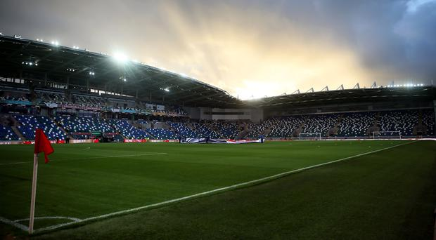 Windsor Park, with a capacity of just over 18,000, is not big enough to host a World Cup match but can serve as a training facility