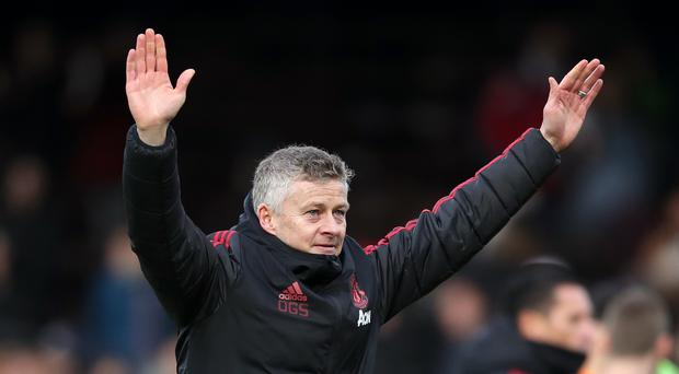 Ole Gunnar Solskjaer faces his biggest test yet as Manchester United interim manager with a Champions League tie against Paris St Germain (John Walton/PA)
