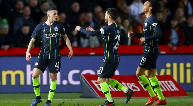 Phil Foden starred in Manchester City's win over Newport (Nick Potts/PA)