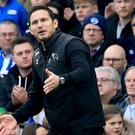 Derby manager Frank Lampard wants an end to their February struggles (Gareth Fuller/PA)