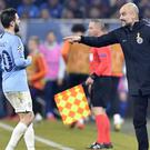 Pep Guardiola said City are not ready to fight for the Champions League (AP/Martin Meissner)