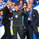 Arsene Wenger and Jose Mourinho had an often heated rivalry (Nick Potts/PA)