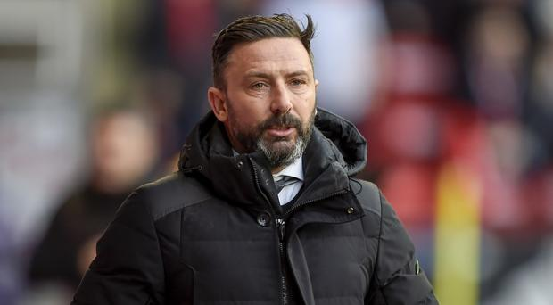 Aberdeen manager Derek McInnes has a lot on his plate at the moment due to injuries (Ian Rutherford/PA)