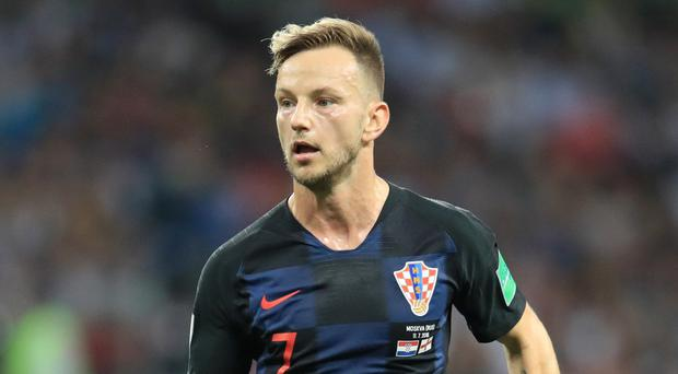 Croatia's Ivan Rakitic is reportedly on the radar of a Premier League club (Adam Davy/PA)