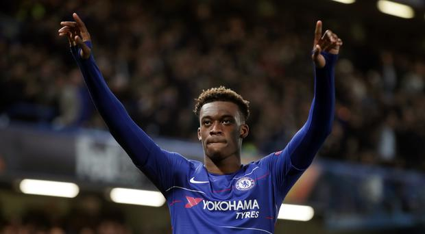 Chelsea's Callum Hudson-Odoi has received his first call-up to the England squad (Adam Davy/PA)