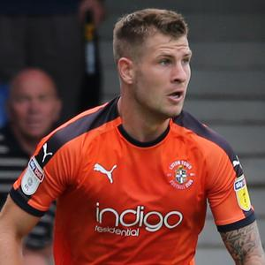 Luton striker James Collins is hoping for a senior Republic of Ireland debut (Isabel Infantes/PA)
