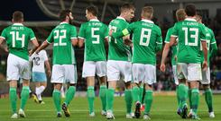 Northern Ireland are back in action against Estonia on Thursday night (Liam McBurney/PA)