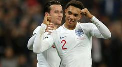 Trent Alexander-Arnold has withdrawn from the England squad (Nick Potts/PA)