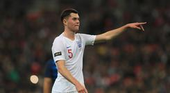 Michael Keane has represented both England and the Republic of Ireland (Mike Egerton/PA)