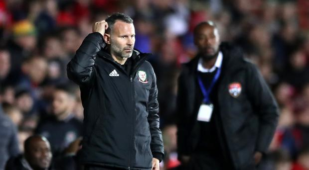 Wales manager Ryan Giggs explained the absence of Gareth Bale and other key players from the friendly against Trinidad and Tobago (Nick Potts/PA)