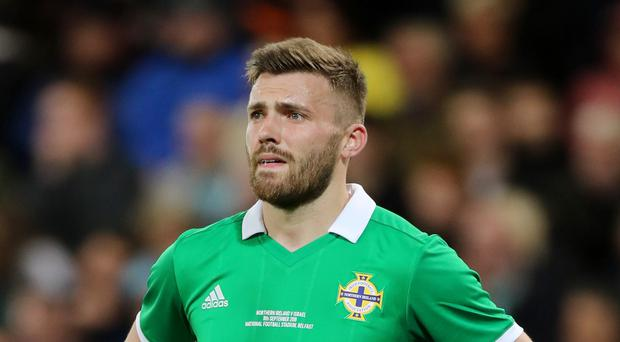 Stuart Dallas believes the fixture list gives Northern Ireland an opportunity in Euro 2020 qualifying (Liam McBurney/PA)