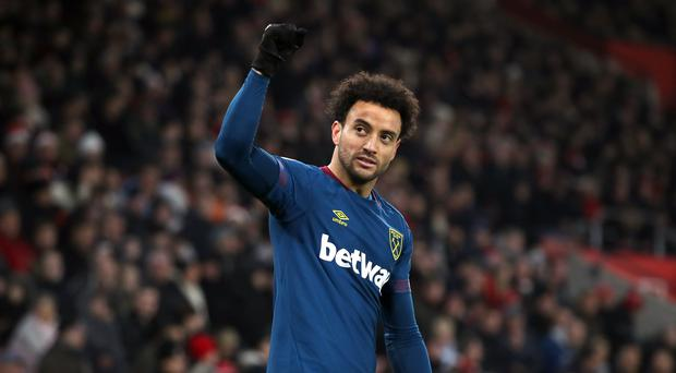 Felipe Anderson has reportedly been earmarked as an alternative buy for Real Madrid if they fail to acquire Eden Hazard (PA file)