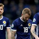 Scotland endured misery in Astana (Adam Davy/PA)