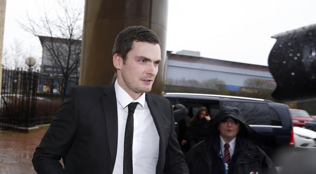Footballer Adam Johnson has been released from prison halfway through a six-year sentence for child sex offences (Owen Humphreys/PA)