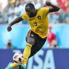 Romelu Lukaku will miss Belgium's match against Cyprus on Sunday (Aaron Chown/PA).