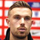 Jordan Henderson is set to make his 50th England appearance (Nick Potts/PA)