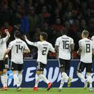 Germany snatched a late victory over Holland in Amsterdam (Peter Dejong/AP)