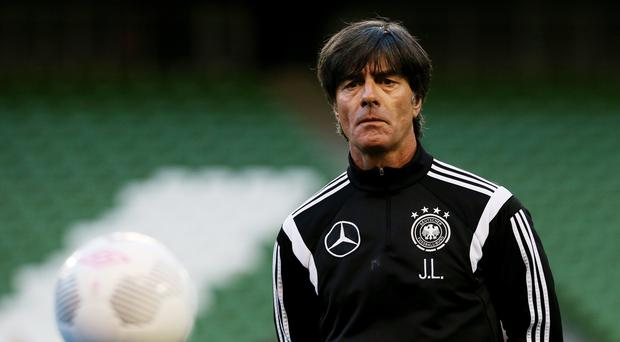 Joachim Low was pleased with how his team battled to victory in Amsterdam (Brian Lawless/PA)