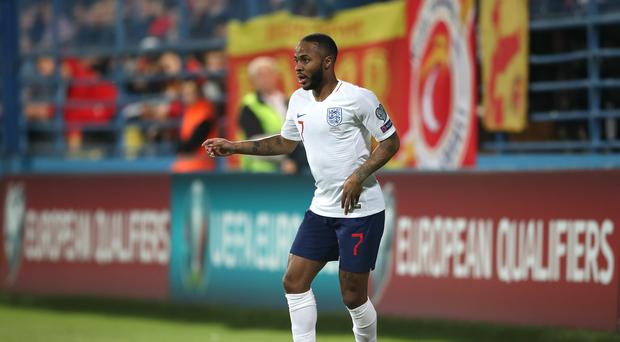 Raheem Sterling was subjected to racist abuse (Nick Potts/PA)