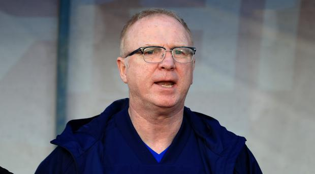 Alex McLeish is under continuing pressure (Simon Cooper/PA)