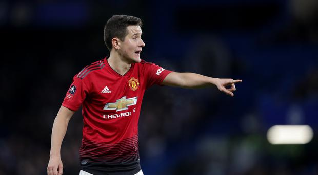 Ander Herrera could soon be exiting Manchester United, reports suggest (Adam Davy/PA)