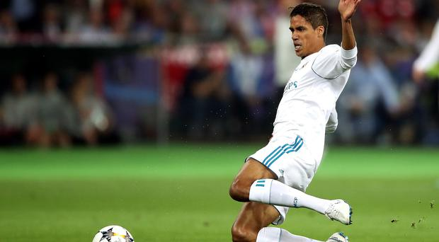 Raphael Varane has been an important part of Real's defence (Nick Potts/PA)