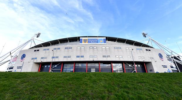 The University of Bolton Stadium has been deemed unsafe (PA/Dave Howarth)
