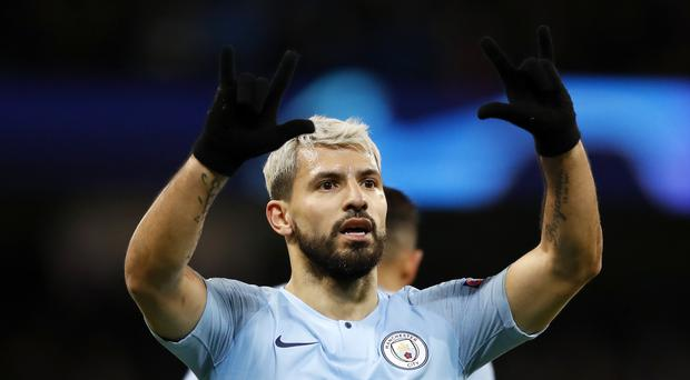 Manchester City's top scorer Sergio Aguero will miss Wednesday's clash with Cardiff (Martin Rickett/PA)