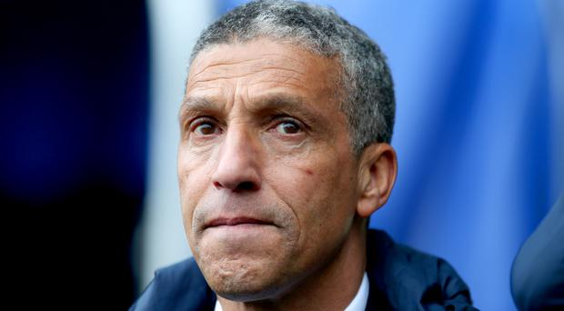 Chris Hughton has led Brighton to their first FA Cup semi-final since 1983 (Steven Paston/PA)