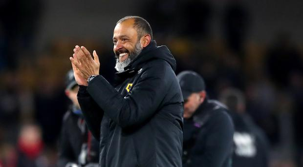 Wolves manager Nuno Espirito Santo is playing it cool ahead of the FA Cup semi-final. (Nick Potts/PA)