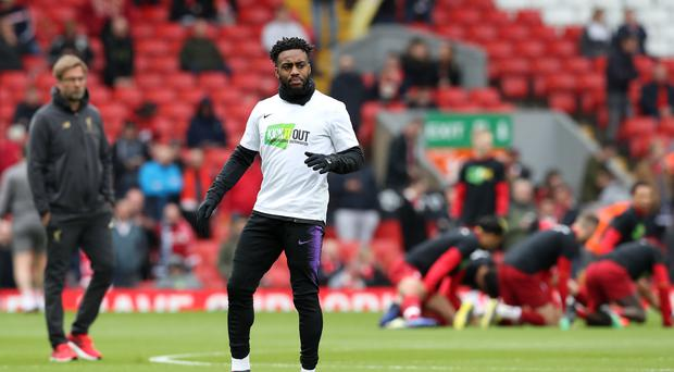 Danny Rose has said he is counting down the days until he quits football (Martin Rickett/PA)