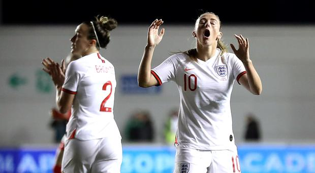 Toni Duggan could not find the breakthrough against Canada (Martin Rickett/PA)