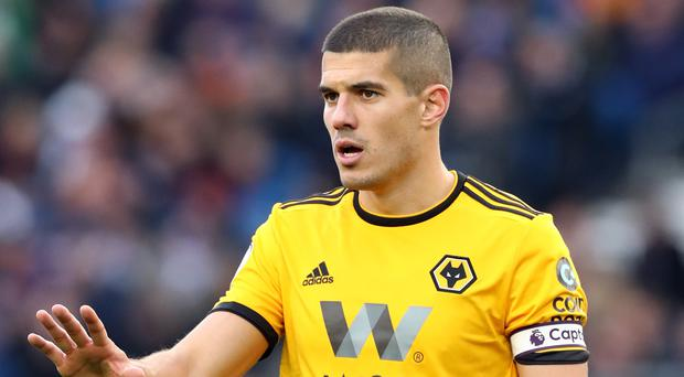 Wolves skipper Conor Coady believes they are heading into a big game (Gareth Fuller/PA)