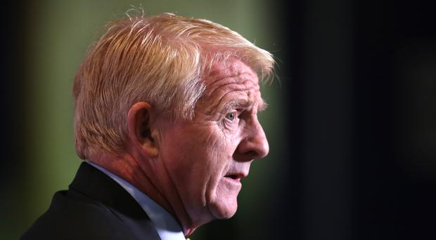 Gordon Strachan has apologised for his controversial comments about Adam Johnson (Jane Barlow/PA)