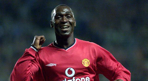 Former Manchester United favourite Andy Cole has told his old team to play without fear against Barcelona (PA)