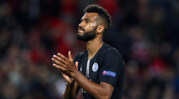 Eric Choupo-Moting playing for Paris St Germain (Peter Byrne/PA)