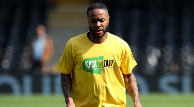 Manchester City's Raheem Sterling is one of a host of Premier League stars to have been subjected to racist abuse on social media (Jonathan Brady/PA)
